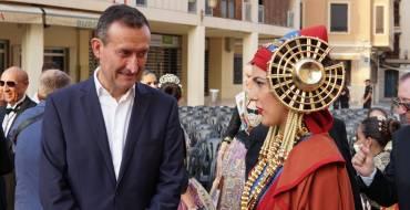 Celebració de l'acte institucional pel 121 aniversari de la troballa de la Dama d'Elx