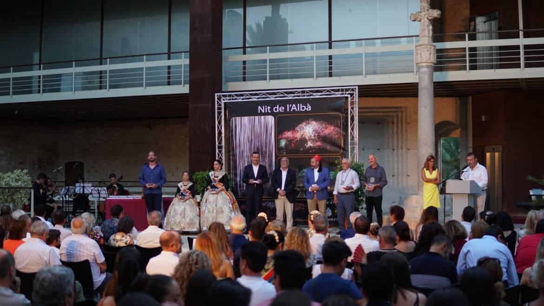 Celebración de la gala de los Patronos de la Nit de l'Albà