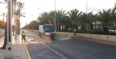 Los servicios de limpieza recogen cerca de 600 toneladas de basura durante las Fiestas