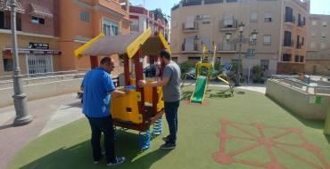 Jocs infantils inclusius i revitalització de places públiques, gràcies als Pressupostos Participatius