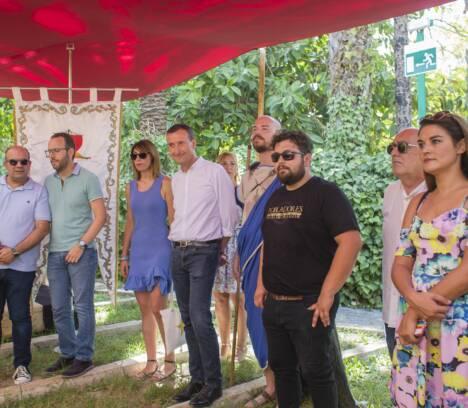 Inaugurado el Recinto festero de Pobladores en la Rotonda del Parque Municipal