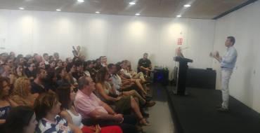"""La conferencia de Nacho Somalo """"Comercio Electrónico para Pyme: Factores y Claves de éxito"""" llena la sala del Centro de Congresos"""