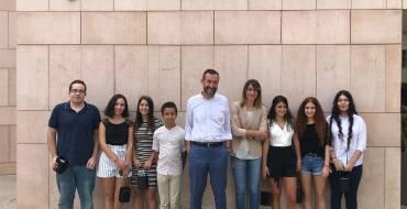 Recepción municipal a los ilicitanos de la Orquesta de Jóvenes de la Provincia de Alicante por su premio en el Festival Summa Cum Laude