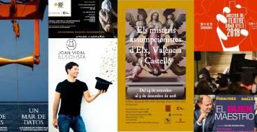 Empieza la XXIII Mostra de Teatre Dama d'Elx en el Gran Teatro de Elche
