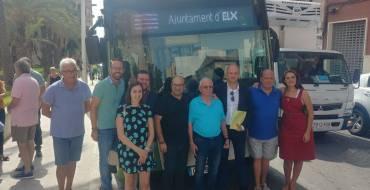 El Ayuntamiento reduce a 20 minutos el paso de la línea L gracias a la compra de un nuevo vehículo de autobús