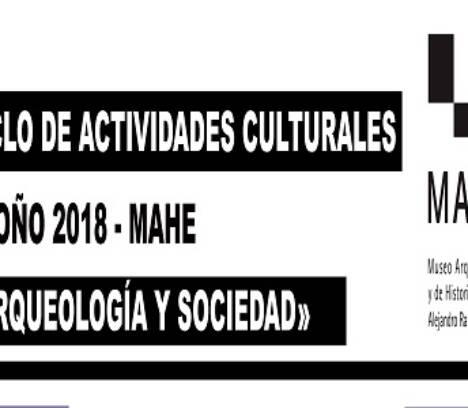 Ciclo «Arquelogía y sociedad»