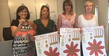La concejalía de Promoció Lingüística acerca el Misteri a los escolares con un recortable de la Mangrana