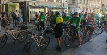 Más de 200 personas se suman a la Marcha Urbana Ciclista y Patinadora