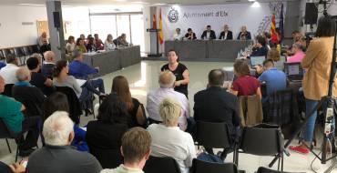 Una veintena de representantes vecinales, de las partidas y de los consejos municipales abren el tercer Debate sobre el Estado del Municipio
