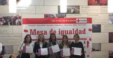 Una empresa ilicitana, CASANOVA AGENCY, recibe un reconocimiento de la Mesa de Igualdad de Cruz Roja