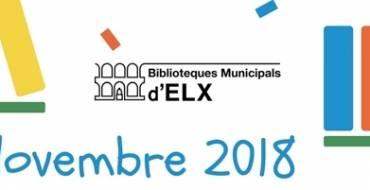 Actividades del mes de noviembre en las Bibliotecas Municipales