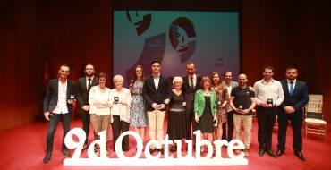 El Gran Teatro ha acogido el acto institucional del 9 d'Octubre en el que se ha procedido a la entrega de varias distinciones
