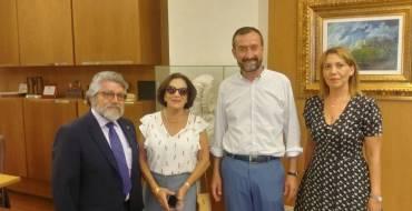Recepción al cónsul de Ecuador en Alicante
