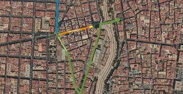 Corte total de calle Mayor del Pla