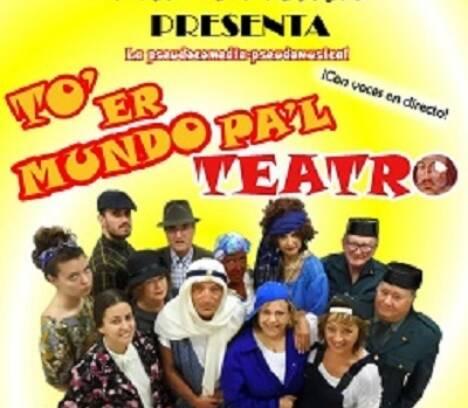 'To'er mundo pa'l teatro' en Perleta