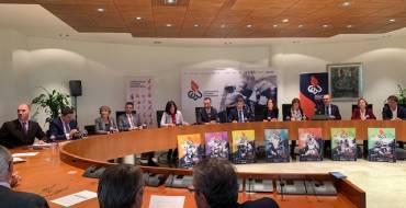 El alcalde de Elche participa con los rectores de las siete universidades de la Comunidad en la firma de un convenio de promoción del deporte universitario