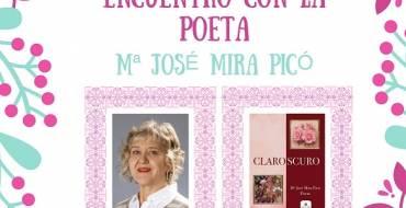 Mª José Mira Picó en la Biblioteca Pedro Ibarra