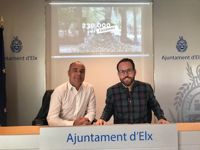 """El Ayuntamiento lanza una campaña con """"230.000 razones"""" para mantener Elche limpia"""