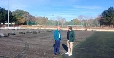 Comienzan las obras de remodelación del campo 1 de la Ciudad Deportiva