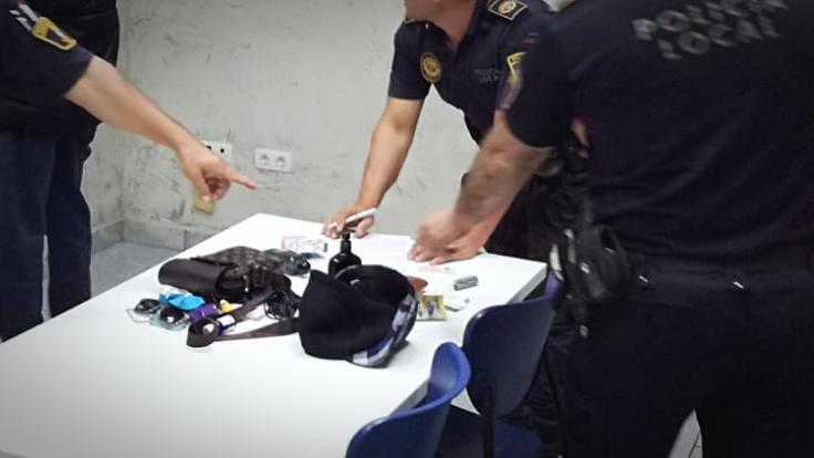 Detenidos dos individuos relacionados con robos en Arenales, Altet y Gran Alacant