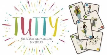 La Concejalía de Igualdad entrega a distintos Centros Educativos, el juego de familias diversas TUTTY