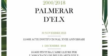 XVIII Aniversari de la declaració del Palmerar d'Elx com Patrimoni de l'Humanitat