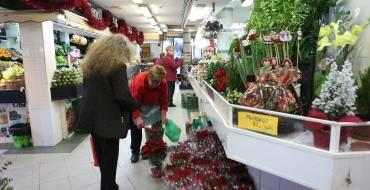 Apertura e instalación de mercados de abastos y mercados de venta no sedentaria los próximos festivos y domingos de diciembre