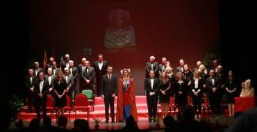 Acto de celebración de los 50 años de Real Orden de la Dama de Elche