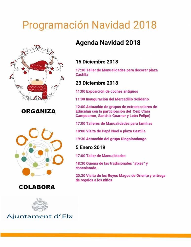 Manualidades De Navidad Campanas.Campana De Navidad En Altabix Ayuntamiento De Elche