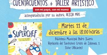 La Superchef: cuento y taller en la Biblioteca Infantil Pedro Ibarra