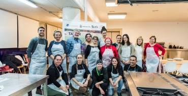 Gran éxito de acogida de la primera edición del Taller de Cocina Navideña