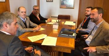 El Govern central es compromet a rellançar el projecte del col·lector principal de Penya de les Àguiles