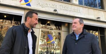 La Agencia Tributaria estudiará la propuesta que plantea el Ayuntamiento para solucionar los problemas fiscales por la rehabilitación de San Antón