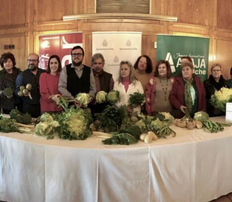 El Ayuntamiento presenta la campaña de hortalizas de invierno