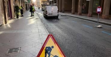 Arrancan las obras de Alfonso XII para permitir el paso del bus urbano