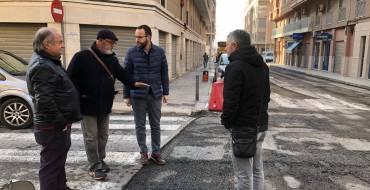 El plan de asfaltado llega a L'Altet con una inversión de 30.000 euros
