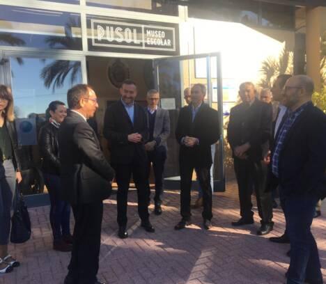 El embajador de España ante la UNESCO se compromete con el alcalde a apoyar Elche como sede del Encuentro de Bienes de Buenas Prácticas