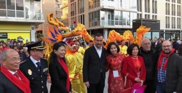 La comunidad china de Elche celebra la llegada del Año del Cerdo