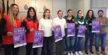 El Ayuntamiento organiza una jornada de convivencia con el voleibol como protagonista para visibilizar el deporte femenino en Elche