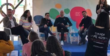 Más de 150 estudiantes de entre 11 y 14 años de Elche y Alicante participan en el Bailongo en un encuentro sobre retos como la igualdad o el medio ambiente