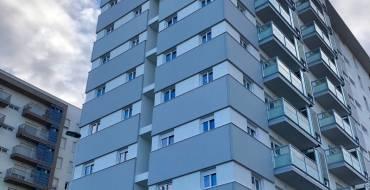 Cinco empresas optan a construir el tercer edificio de la rehabilitación del barrio de San Antón