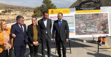 Comencen les obres de duplicació de la carretera d'accés a l'aeroport