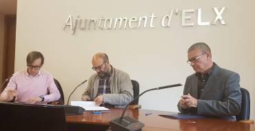 La concejalía de Participación aporta 13.000 euros a la Federación de Asociaciones de Vecinos 'Dama de Elche'