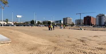 Comienzan las obras de ampliación del aparcamiento ubicado en el Hospital del Vinalopó