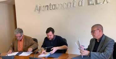 El Ayuntamiento renueva su compromiso con ASAJA para promocionar los productos del Camp d'Elx