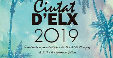 """Listas definitivas de los Premios Literarios """"Ciutat d'Elx"""" 2019"""