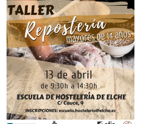 NOU TALLER DE REBOSTERIA DE SETMANA SANTA