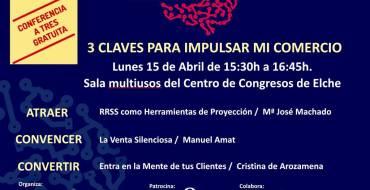 """Conferencia  """"3 Claves para impulsar mi comercio»"""
