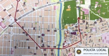 Cortes de calle o limitación de estacionamiento previstos con motivo de la festividad del 1 de Mayo