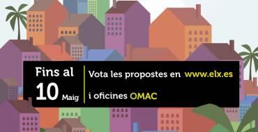 Comienza la votación de propuestasdel Pressupost Participatiu 2019